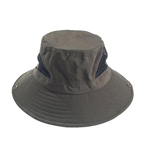 Chapeau de pêcheur récréatif de l'ombre/Casquette de pêche en plein air pour hommes/Seau chapeau de mode A
