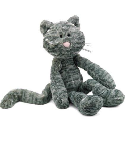 Image of Jellycat Merrydays Grey Cat 41cm