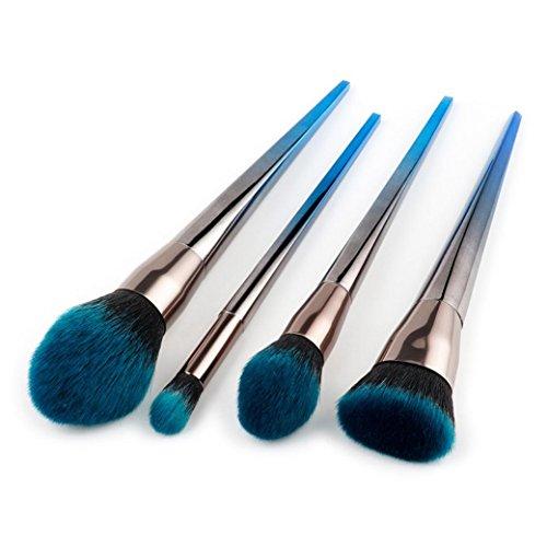 Nouveau Sansee 4Pcs Pinceaux de Maquillage Set Foundation Pinceaux de Poudre Pinceaux Cosmétique Make up Brush Set