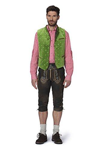 Stockerpoint - Herren Trachten Weste in verschiedenen Farbtönen, Calzado, Größe:56, Farbe:Hellgrün - 2