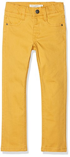 NAME IT Jungen Hose NMMTHEO TWIADAM Pant NOOS, Gelb Sunflower, 104
