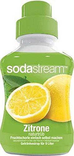 SODASTREAM FRUCHTGESCHMACK Zitrone naturtrüb Geschmack, 375ml