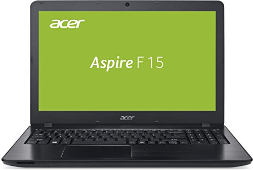 Acer Aspire F 15 (F5-573G-70YT) 39,6 cm (15,6 Zoll FHD) Laptop (Intel Core i7-7500U, 8GB RAM, 256GB SSD + 1000GB HDD, NVIDIA GeForce GTX 950M, DVD, Win 10 Home) schwarz