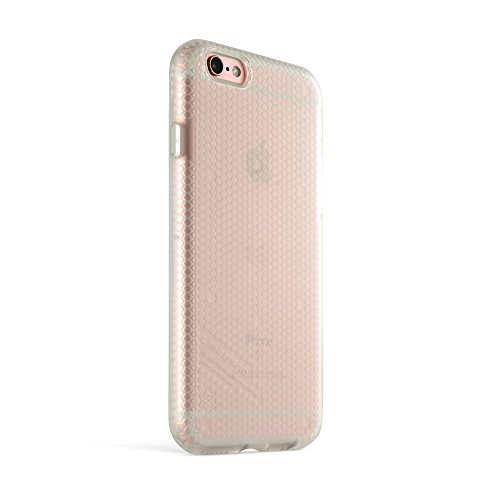 iPhone 6 / 6s Hülle, RhinoShield [SolidSuit Leather] Hochbelastbar. Schockabsorbierend. Ultra dünn, lebenslangen Garantie. 3 Meter Fallschutz Robuste Abdeckung - Schwarz Transparent