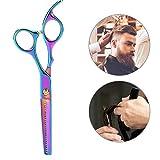 2x Professional Dog Hair Thinning Scissors, Extra Sharp Modelling Scissors, Cat Sharp Scissors