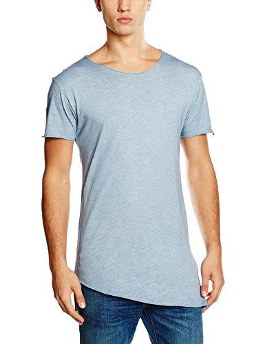 BOOM BAP WEAR Herren T-Shirt Guilty Blau (Washed 795)
