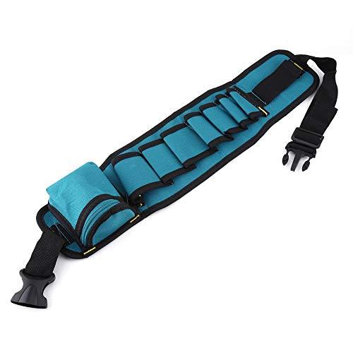 Asixx Werkzeugtasche, Werkzeug-Gürtel mit Großen und Kleinen Taschen für Elektriker für Hammer, Zangen usw