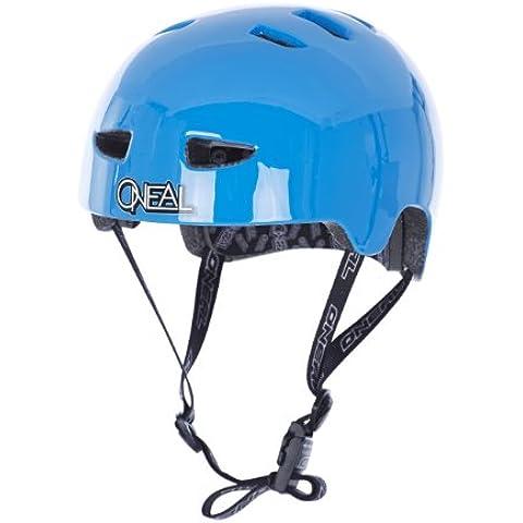 Casco BMX O'Neal ProFit Plain Fidlock, Inmold azul (Tamaño de la cabeza: 59-60 cm)