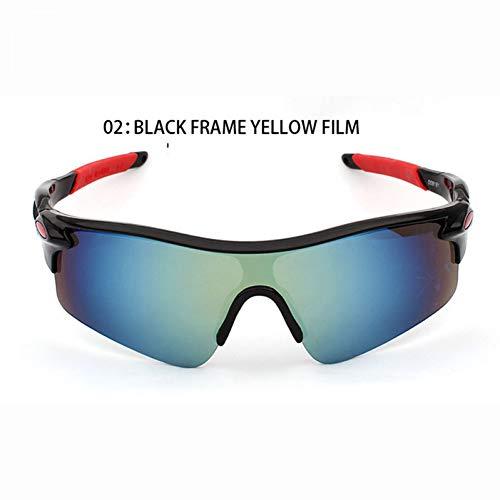 ZKAMUYLC SonnenbrilleRadfahren Brillen Männer Outdoor UV400 Sunglass Nachtsicht Fahrrad Brille Frauen Mountainbike Sport UV Sonnenbrille Reitbrille