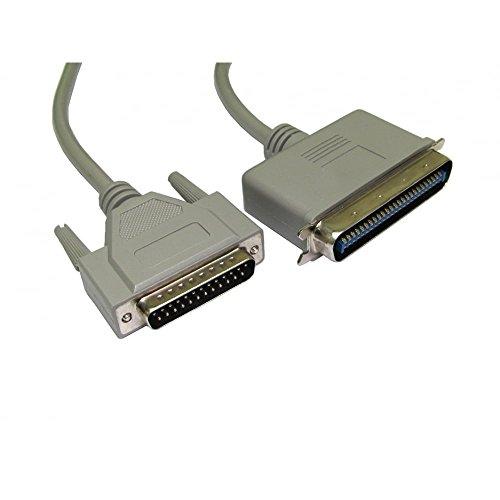 bluecharge Direct SCSI 1D25Stecker auf 50-poliger Centronics Männlich Kabel 2m beige