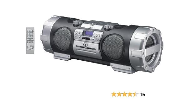 Jvc Rv Nb 10 B Cd Radio Recorder Black Silver Mp3 Hifi