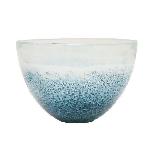 Renaissance 2000 Deko-Glas Vase, 7.3-inch von 4.3von 7.3-inch von 10,9cm, blau