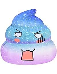 Fossrn Squishy Kawaii Squishys Baratos Kawais Emoji Galaxy Poo Con Olor Juguete AntiestréS