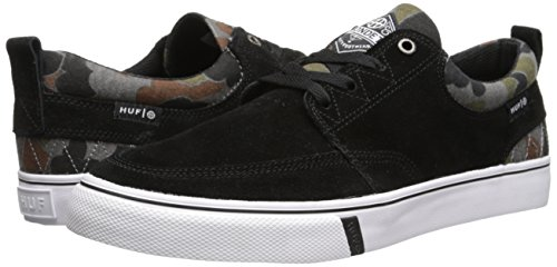 Herren Skateschuh HUF Ramondetta Pro Skate Shoes jet black/camo
