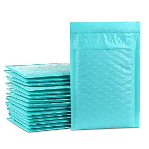 Versandbox Plus 50# 00010,2x 20,3cm Poly Blase Mailer Protected Briefumschläge Staubbeutel selbst Seal Luftpolstertaschen blaugrün - Seal Versandtaschen Poly Selbst