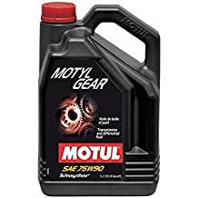 MOTUL - 106467/74 : Aceite lubricante caja cambios transmision MOTYLGEAR 75W90 5 L