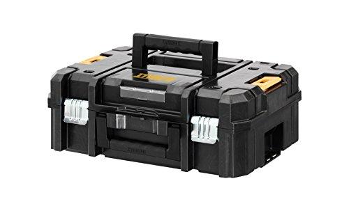 DeWALT TSTAK II. Color del producto: Negro, Amarillo. Ancho: 440 mm, Profundidad: 176 mm, Altura: 331 mm Peso y dimensiones -Ancho: 440 mm -Profundidad: 176 mm -Altura: 331 mm  Diseño -Color del producto: Negro, Amarillo