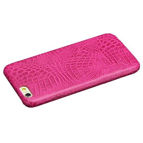 """F8Q luxe souple Crocodile PU cuir peau Phone Housse Case pour iPhone 6/6S 4.7 """" Se leva"""