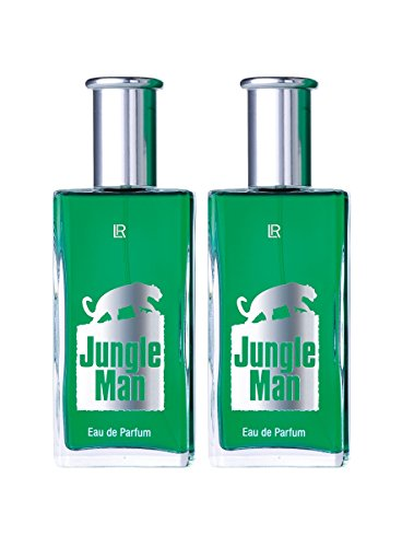 LR Jungle Man Eau de Parfum für Männer (2x 50 ml)
