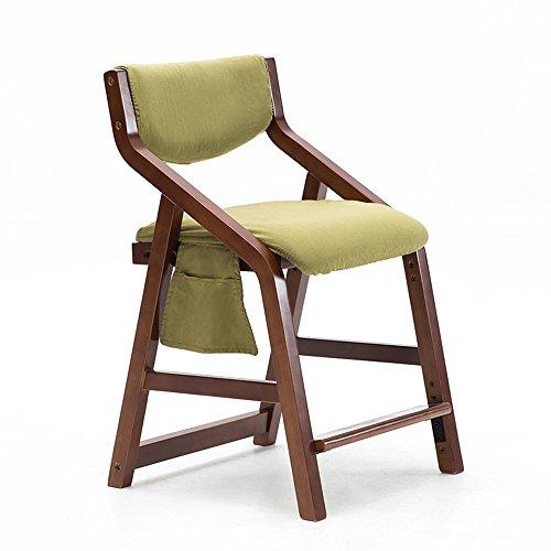 MEIDUO Durable Selles Ascenseur en bois solide de chaise avec le dossier pour 3-18 ans de taille réglable 20 couleurs pour intérieur extérieur ( Couleur : U )