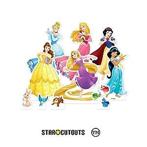 Star Cutouts TT011 Disney Princess - Juego de mesa para fiestas, bodas y eventos, multicolor