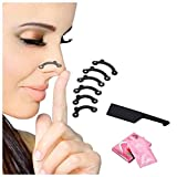 AlexVyan Certified 3D 6Pcs/Set in 3 Size Nose Up Lifting Shaping Bridge Nose