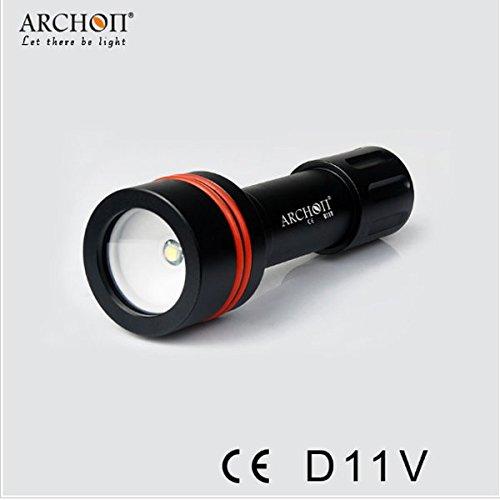 Pegasus 860lm plongée LED lampe de poche à 100m U2 archon d11v xm-l