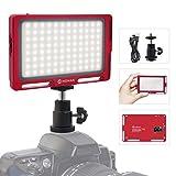 Moman Videoleuchte LED Mini Dimmbare Videolicht...