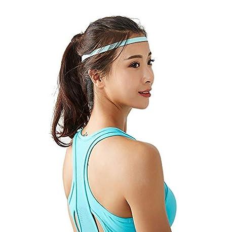 TESITE Diadema Banda para El Cabello Que Absorbe El Sudor para Hombres Y Mujeres Que Usan Yoga Ropa Deportiva Cintur N Anti S