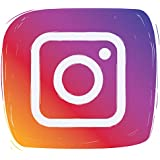 Adhesivo de vinilo autoadhesivo con icono de redes sociales de Instagram   Pegatina de coche   Calcomanía de ventana   Arte d