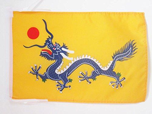 AZ FLAG Bandera del DRAGÓN Chino 45x30cm - BANDERINA del Dragon DE China 30 x 45 cm cordeles