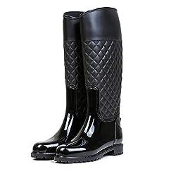 LILY999 Botas de Agua Mujer...