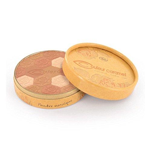 Couleur Caramel Poudre Mosaique Eclat Du Teint opaco 233Medium Skin