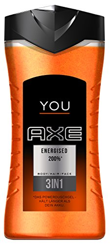 Axe Duschgel You Energised, 250 ml, 6er Pack (6 x 250 ml) (Gel Axe Duschgel)