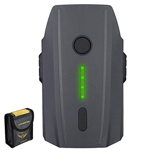Powerextra 3830mAh Li-Polymer Ersatzakku(11,4 V) für DJI Mavic Pro (Nicht für DJI Mavic 2 Pro und DJI Mavic 2 Zoom geeignet)