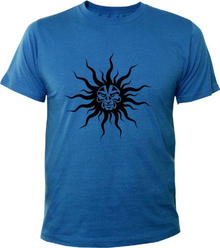 Mister Merchandise Cooles Fun T-Shirt Mad Sun Royalblau