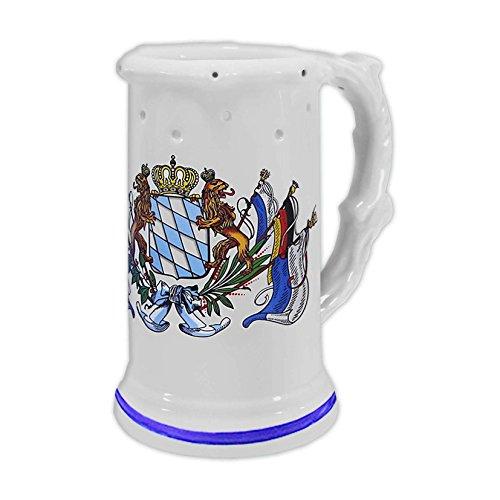 mágica de jarra de cerveza (Decoración de jarra de porcelana con agujeros 720ml