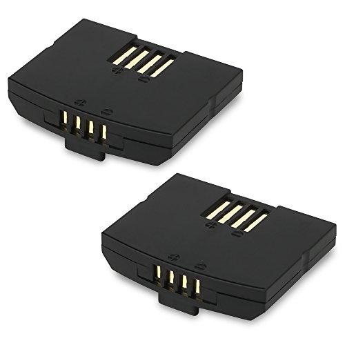 2x subtel® Batterie premium pour Sennheiser Set 840 TV, RS 4200, RI 410 (IS 410), Set 830 TV (RI 830), Set 840-S, Set 900 (RI 900), RR 840, EKI 830, HDI 830, Siemens Set RR 832 TV, RR 842 TV (150mAh) BA300,BA 300, NCI-PLS100H,500898 Batterie de rechange, Accu remplacement