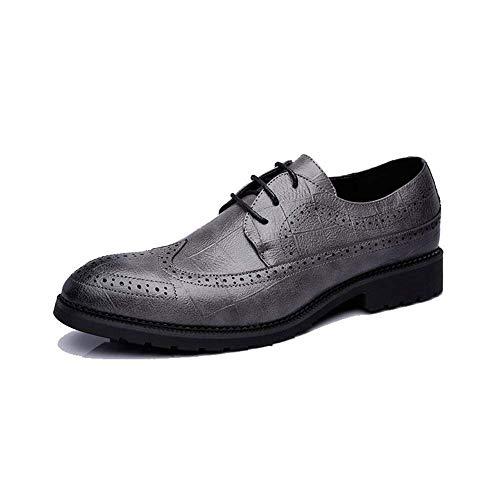 f2fef97f31d3c8 HhGold 2018 Zapatos Oxford para Hombres de Negocios, Moda Casual, clásicos,  Transpirables y