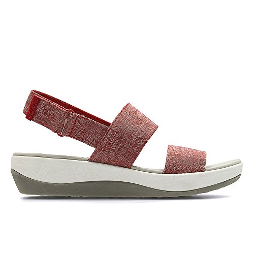 clarks-arla-jacory-textile-sandals-in-red-white-standard-fit-size-8