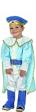 Toddler Blue Prince Charming Fancy Dress Costume Age 2-4 Years