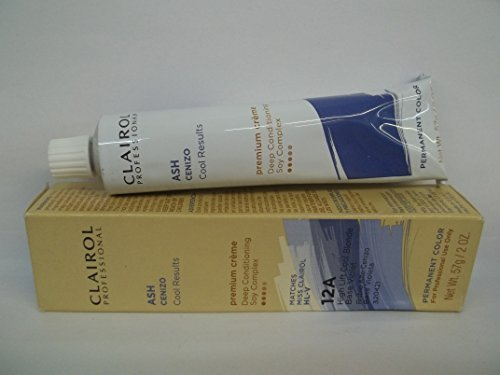 Clairol Blonde Lift (Clairol Professional Permanent 12A High Lift Cool Blonde by Clairol)