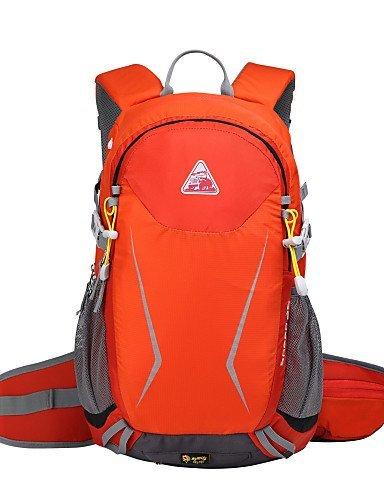 Randonnée pack/Sac de Randonnée/poches à eau/Cyclisme à dos/Voyage Duffel/Etuis de Sac/Organisateur Voyage ( Noir/Bleu/Orange , 25L L)