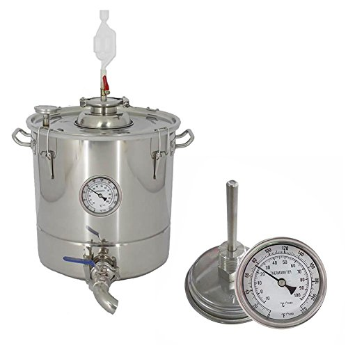 martialart Bierbrauen Thermometer Homebrew Wasserkocher Bierbrauen Thermometer Homebrew Bier Bi-Metall-Thermometer