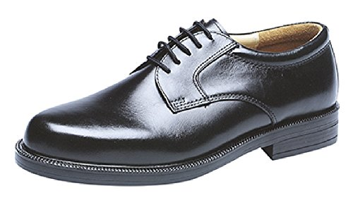 Mens Gibson Oxford Brogue Leather Smart Shoes