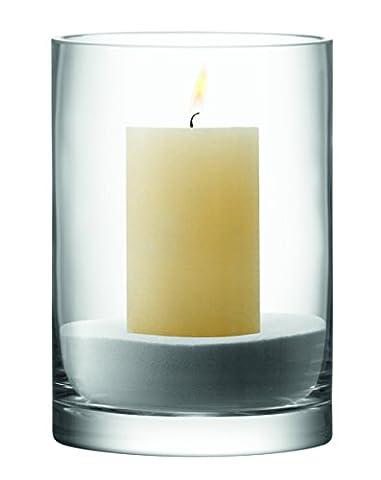 LSA International Column Vase/Candleholder H24 x Ø17Cm Clear