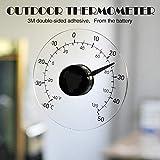 Colore Bianco TFA 12.3010 Termometro da Interno ed Esterno plastica