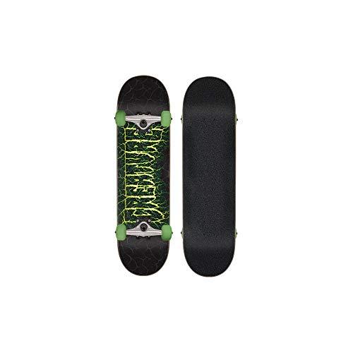 Creature Schwarz Shocker - 8 Inch Skateboard Komplett (One Size, Schwarz)