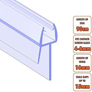 door weatherstrip door seals rigid with fin rubber pvc white 100 cm sticker