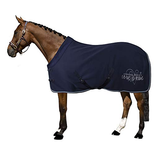 Imperial Riding Fleecedecke Abschwitzdecke Goodnight (145 cm, Navy)